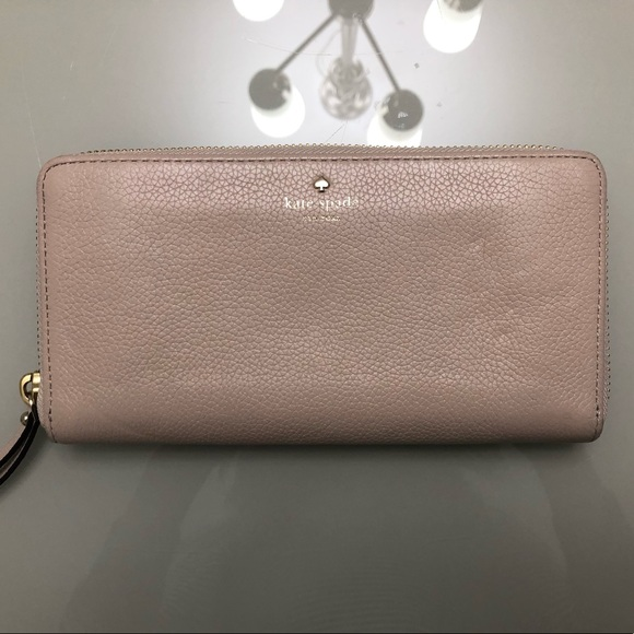 Kate space nude colour wallet